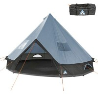 10T Mojave 500 Arona XXL Tipi tent waterproof 5-10 persons round tent Indian tent Ø 5 m