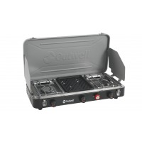 Outwell Chef Cooker Premium 3-Burner Stove & Grill