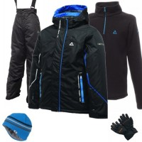 Dare2b Think Out Boy's Ski Wear Package - Black