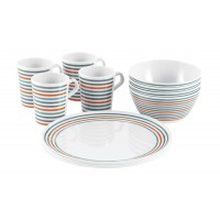 Easy Camp 4-Person Melamine Dish Set
