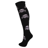Manbi Men's Patterned Ski Tubes - Black Skulz