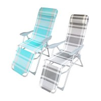 Megastore Textilene Reclining Chair with Footrest