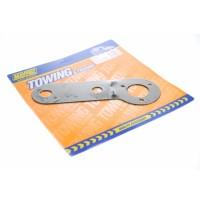 Maypole Single Socket Mounting Plate DP