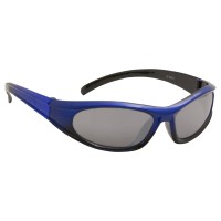 Manbi Cosmos Ski Sunglasses - Metallic Blue