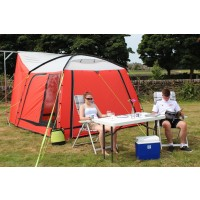 Outdoor Revolution Cayman Motorhome Awning - Chilli Red