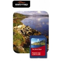 Satmap Isle of Skye 1:25k & 1:50k Map Card