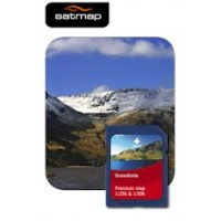 Satmap National Parks Premium - Snowdonia 1:25k & 1:50k Map Card