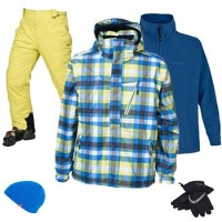 Trespass Heston Men's Ski & Snowboard Package