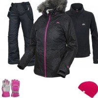Trespass Sugarloaf Women's Ski Wear Package - Black