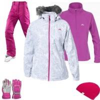 Trespass Sugarloaf Women's Ski Wear Package - White
