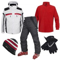 Trespass Bedrock Men's Ski Wear Package