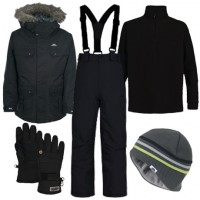 Trespass Brady Parka Boy's Ski Wear Package