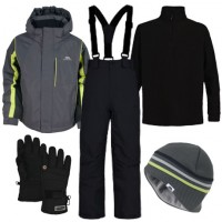 Trespass Etch Boy's Ski Wear Package