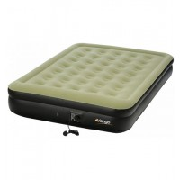 Vango High-Rise Flocked Airbed with Built-In Pump