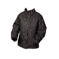 White Rock Star Burst Women's Ski Jacket