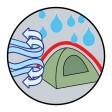 Coleman Aravis 3 Tent