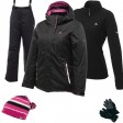 Dare2b Fluctuate Women's Ski Wear Package - Black