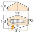 Force Ten Helium 100 Tent - 2011 Model