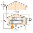 Force Ten Helium Carbon 200 Tent