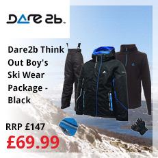 Dare2b Think Out Boy's Ski Wear Package