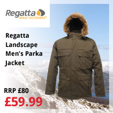 Regatta Landscape Men's Parka Jacket